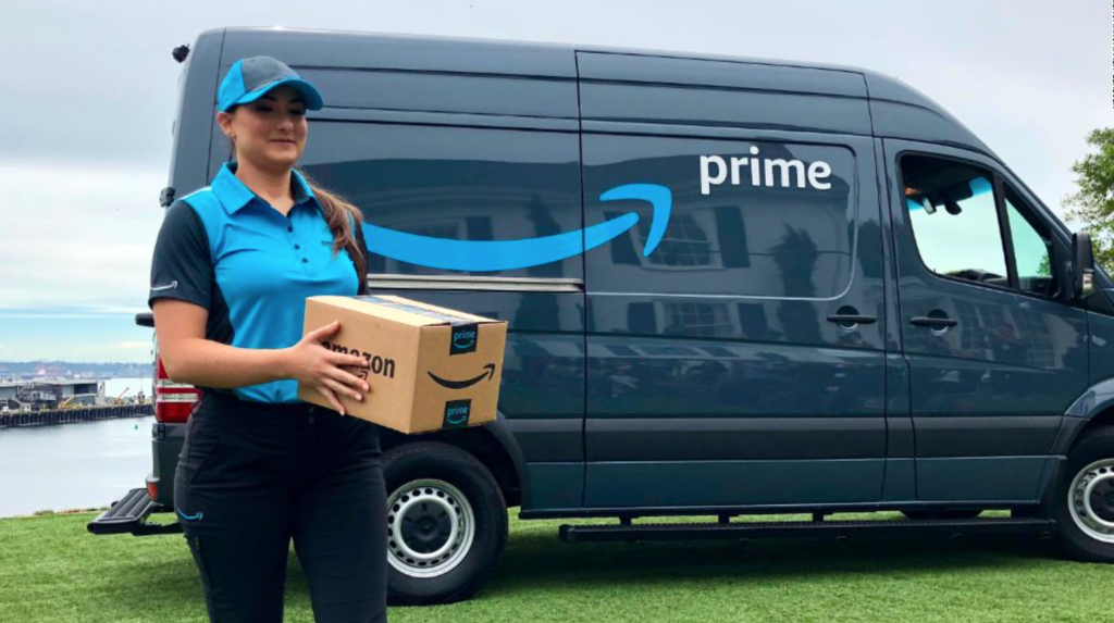 amazon delivery fleet online sellers insurance amazing prime